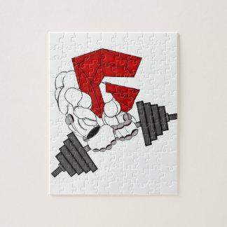 GYM ROBOT JIGSAW PUZZLE