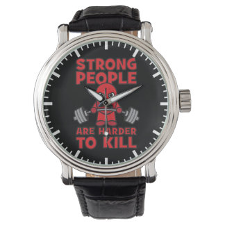 Gym - Strong People Are Harder To Kill - Kawaii Watch
