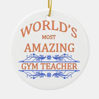 Gym Teacher Christmas Ornament