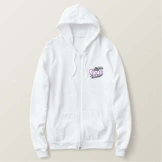 Gym Teacher Embroidered Hoodie