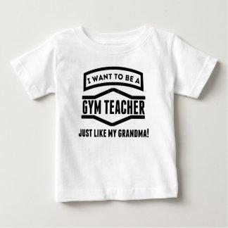 Gym Teacher Just Like My Grandma Tee Shirts