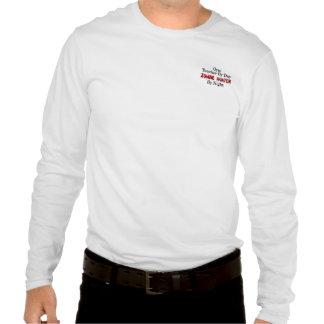 Gym Teacher Zombie Hunter T-shirt