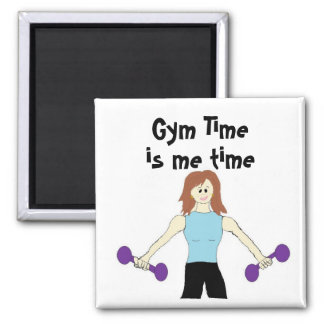 Gym Time is Me Time Magnet