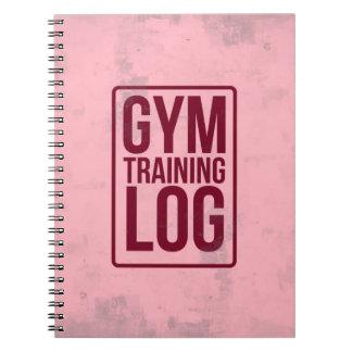 Gym Training Log Notebook