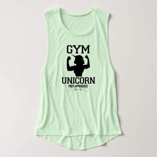 GYM UNICORN- muscle tank