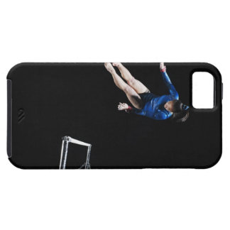 Gymnast (16-17) dismounting uneven bars case for the iPhone 5