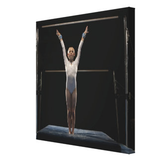 Gymnast 2 canvas print