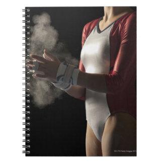 Gymnast 3 spiral notebooks