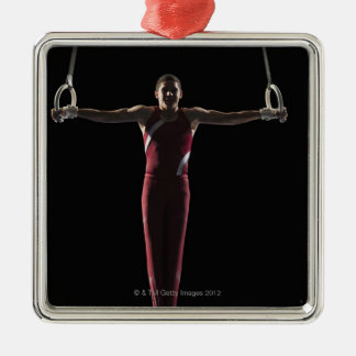 Gymnast 4 christmas ornament