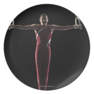 Gymnast 4 plate