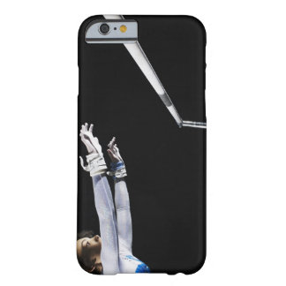 Gymnast (9-10) reaching for uneven bars 2 barely there iPhone 6 case