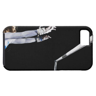Gymnast (9-10) reaching for uneven bars 2 iPhone 5 cases