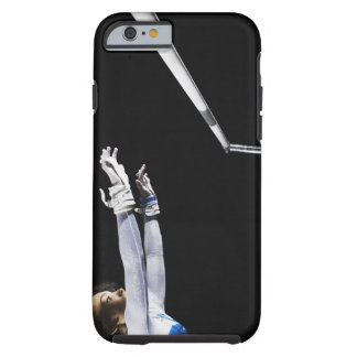 Gymnast (9-10) reaching for uneven bars 2 tough iPhone 6 case