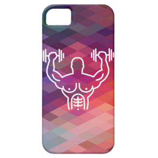 Gymnast Biceps Minimal iPhone 5 Cases
