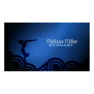 Gymnast Business Cards
