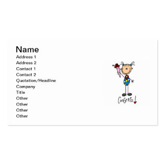 Gymnast Champion Pack Of Standard Business Cards