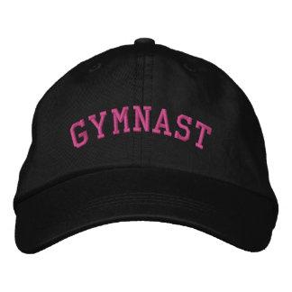 GYMNAST EMBROIDERED HAT