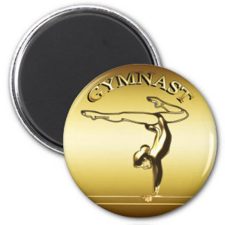 GYMNAST FRIDGE MAGNET
