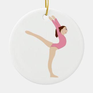 Gymnast Girl Christmas Ornament