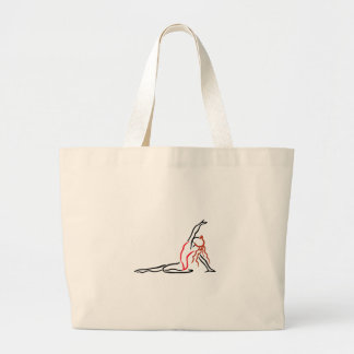 Gymnast Girl Jumbo Tote Bag