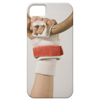 Gymnast hand holding ring iPhone 5 covers