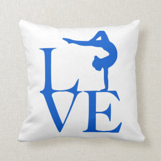 Gymnast Love Cushion