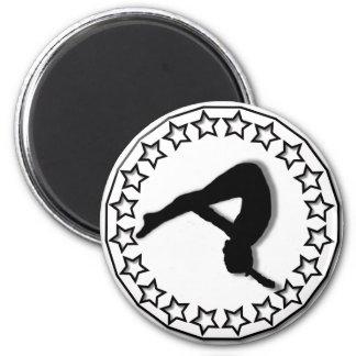 Gymnast Magnet
