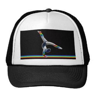 Gymnast on a Rainbow Beam Cap
