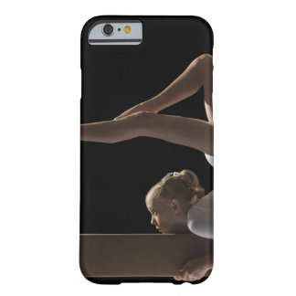 Gymnast on balance beam barely there iPhone 6 case