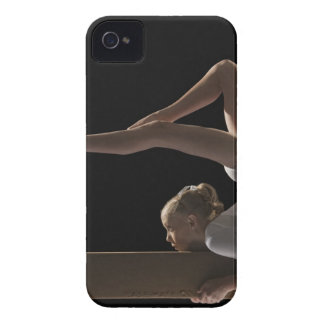 Gymnast on balance beam Case-Mate iPhone 4 cases