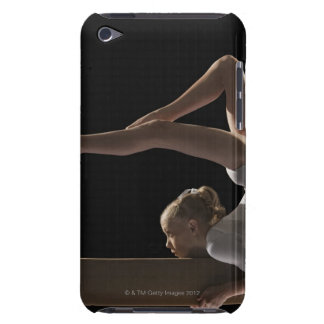 Gymnast on balance beam Case-Mate iPod touch case