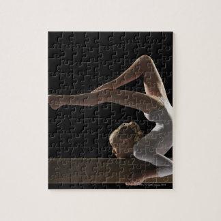 Gymnast on balance beam puzzle