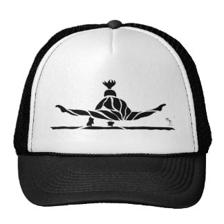 Gymnast on Bars Back View Trucker Hat