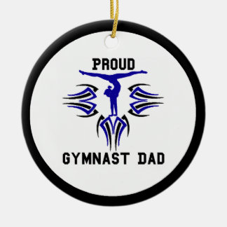 Gymnast Ornament Dad Personalize