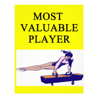 GYMNaST ost valuable player Flyer