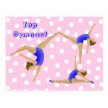 Gymnast Postcard