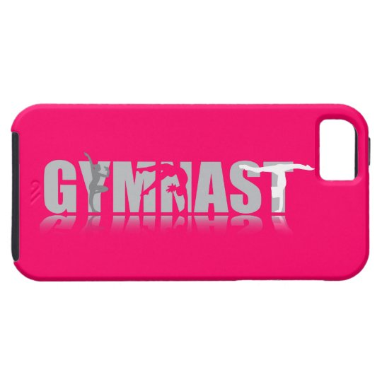 Gymnast Reflection iPhone Case