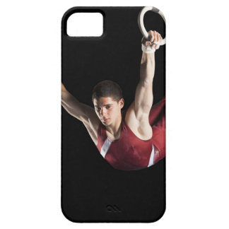 Gymnast swinging from rings barely there iPhone 5 case