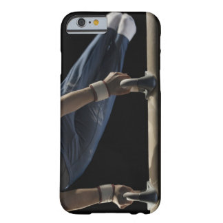 Gymnast swinging on pommel horse barely there iPhone 6 case