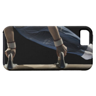 Gymnast swinging on pommel horse case for the iPhone 5