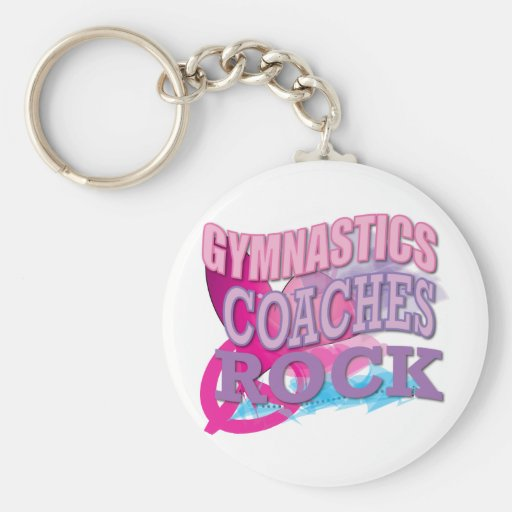 Gymnastic Coaches Gifts from Gymnasts Key Chain