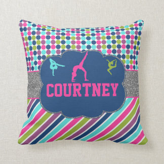 Gymnastic Dance Name Personalized Cushion