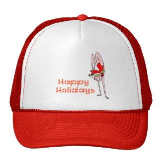 Gymnastic Happy Holidays Cap
