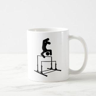 Gymnastic - Uneven Bars Basic White Mug