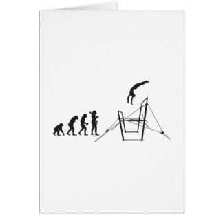Gymnastic Uneven Bars Note Card