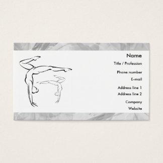 Gymnastics 2 business card