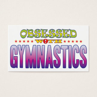 Gymnastics 2 Obsessed Business Card