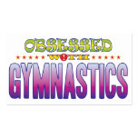 Gymnastics 2 Obsessed Pack Of Standard Business Cards