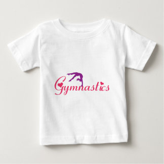 Gymnastics Apparel Hearts for Girl Baby T-Shirt