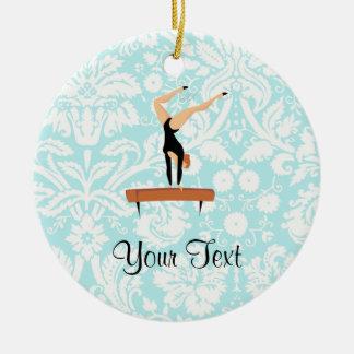 Gymnastics Balance Beam Christmas Ornament